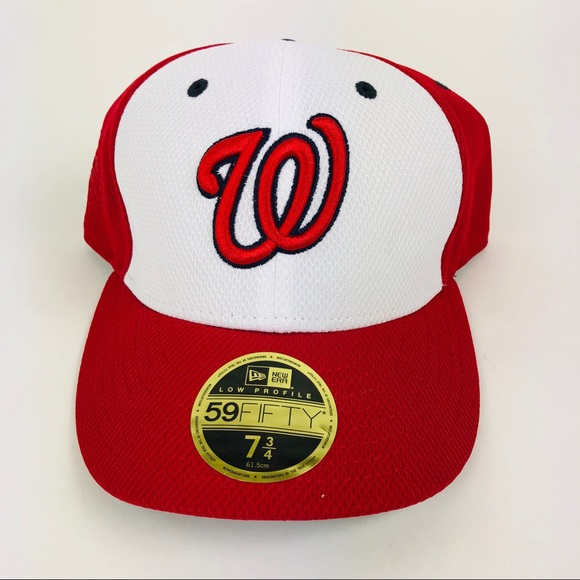 ca9dcf11 New Era 59Fifty Washington Nationals MLB Hat New NWT